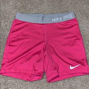 dri-fit nike pro spandex shorts